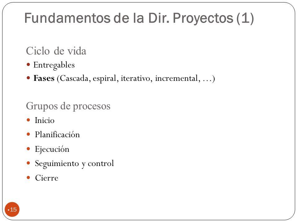 Fundamentos de la Dir. Proyectos (1)