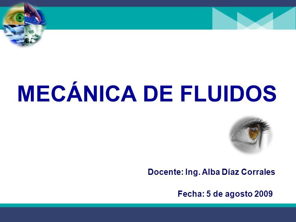 Docente: Ing. Alba Díaz Corrales