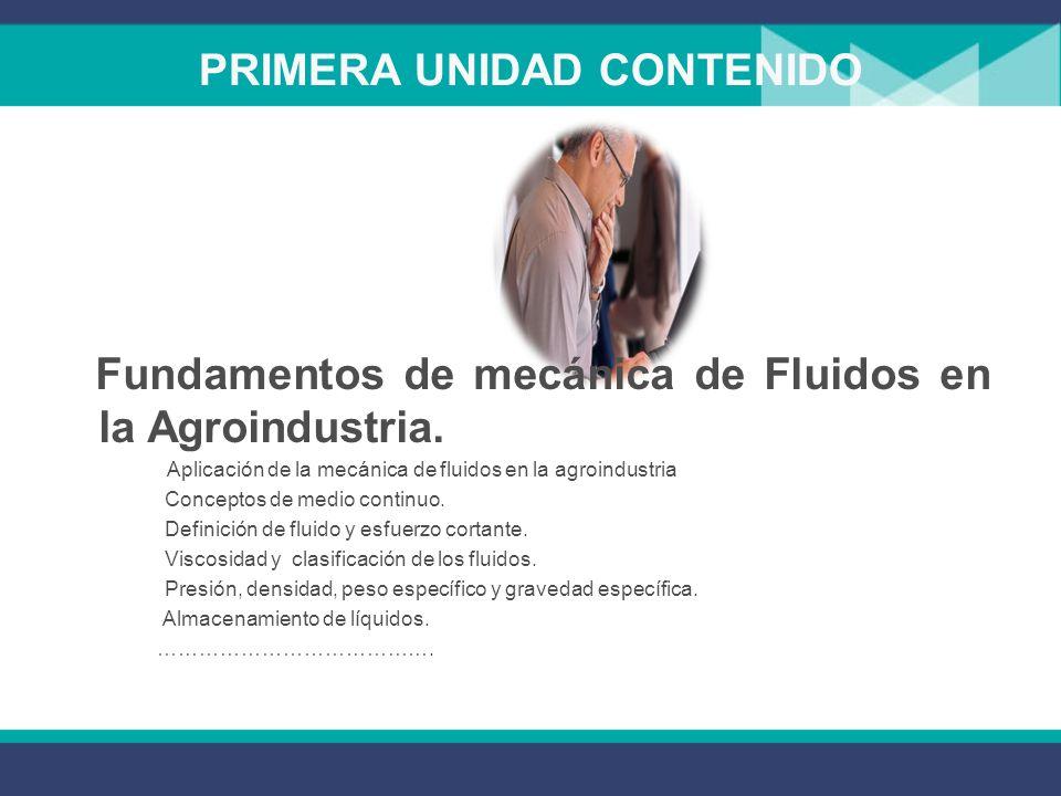 PRIMERA UNIDAD CONTENIDO