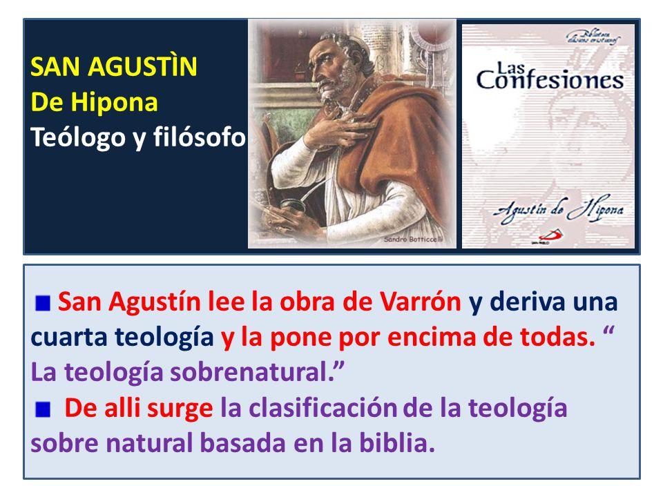SAN AGUSTÌN De Hipona. Teólogo y filósofo.