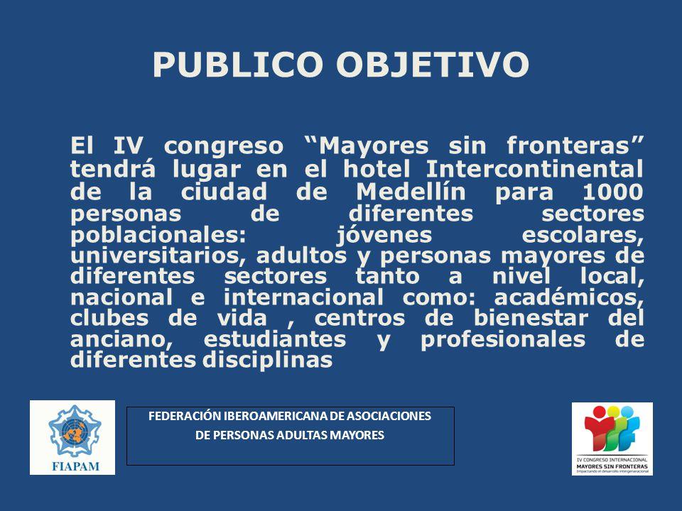 FEDERACIÓN IBEROAMERICANA DE ASOCIACIONES DE PERSONAS ADULTAS MAYORES