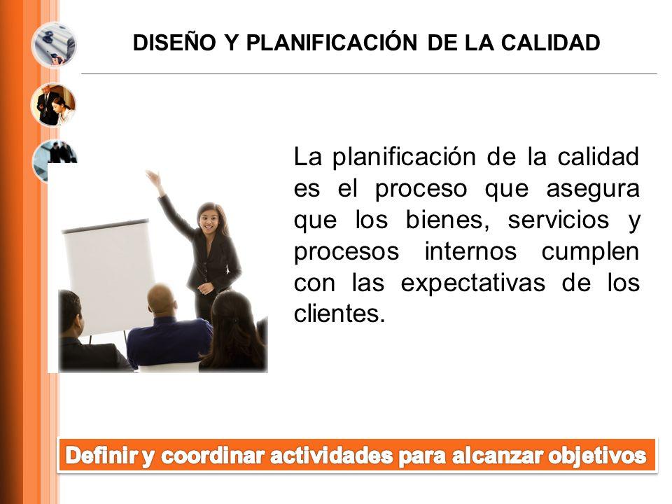 DISEÑO Y PLANIFICACIÓN DE LA CALIDAD