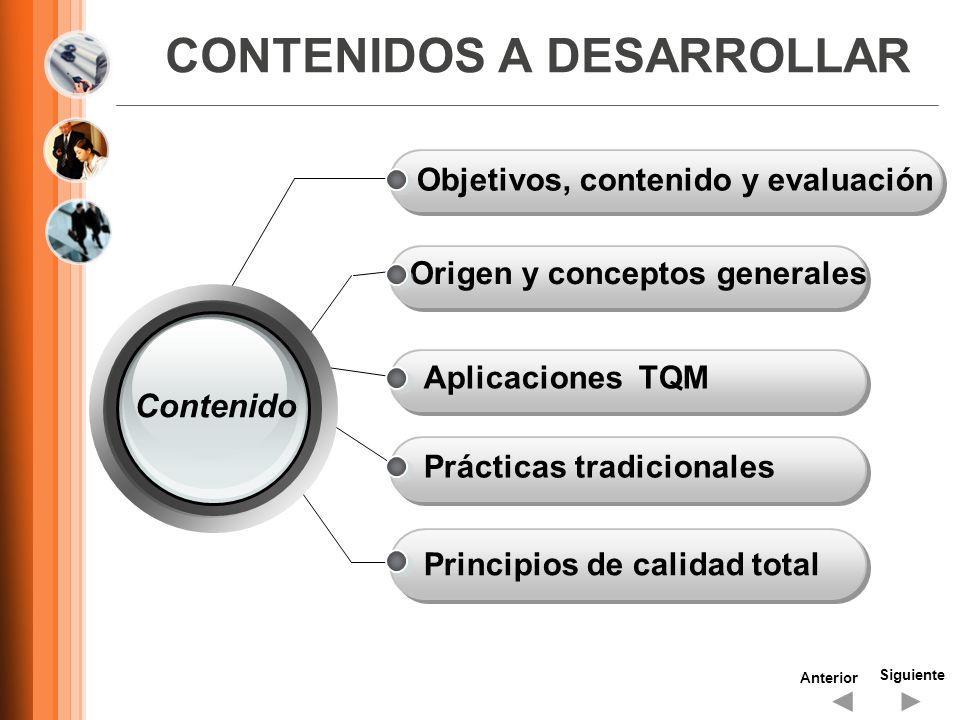 CONTENIDOS A DESARROLLAR