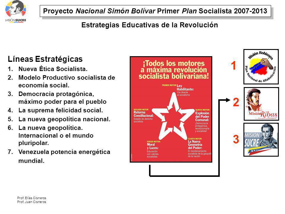 Proyecto Nacional Simón Bolívar Primer Plan Socialista 2007-2013