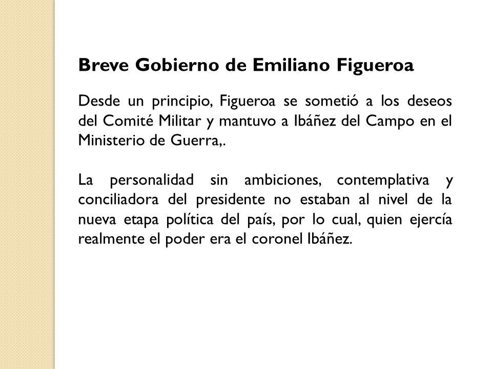 Breve Gobierno de Emiliano Figueroa