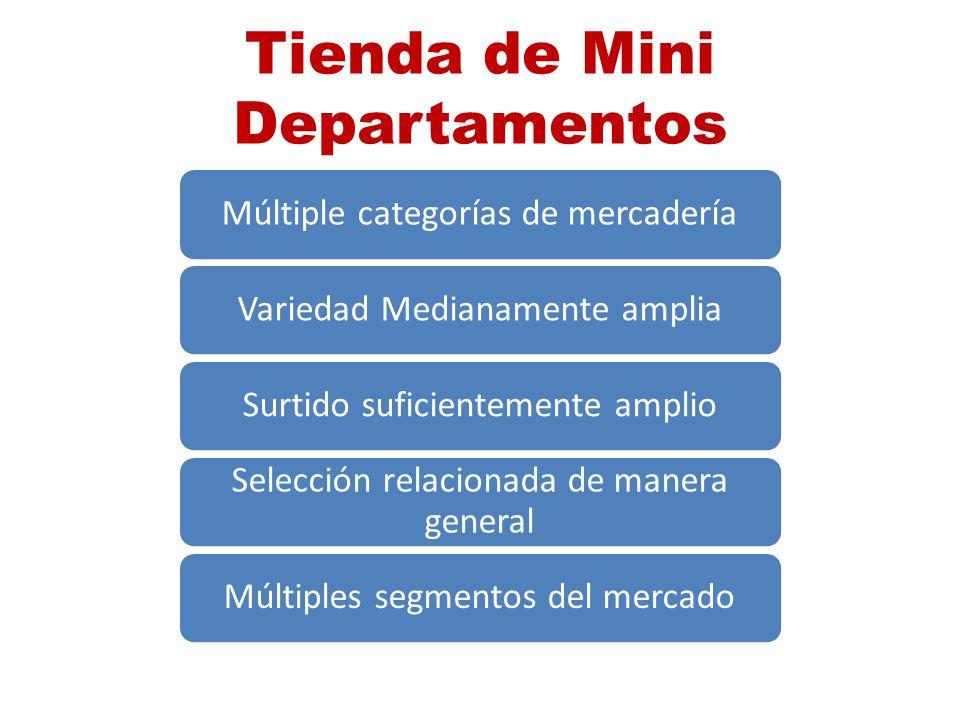 Tienda de Mini Departamentos