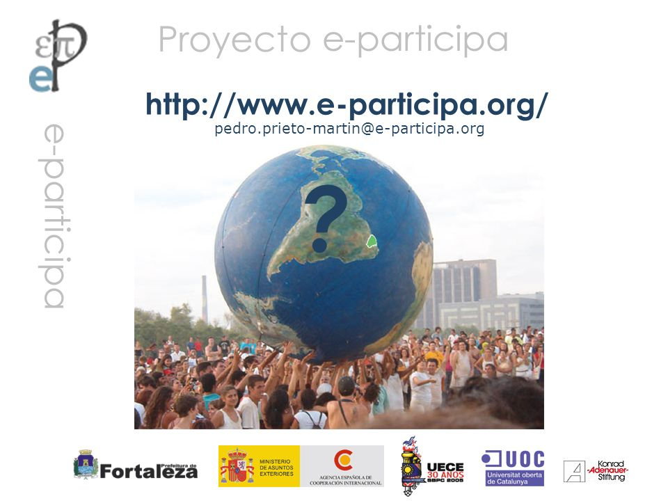 Proyecto http://www.e-participa.org/