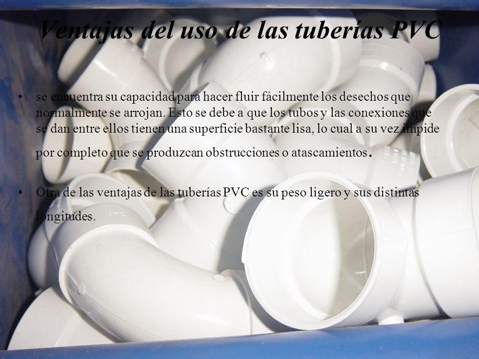 Ventajas del uso de las tuberías PVC