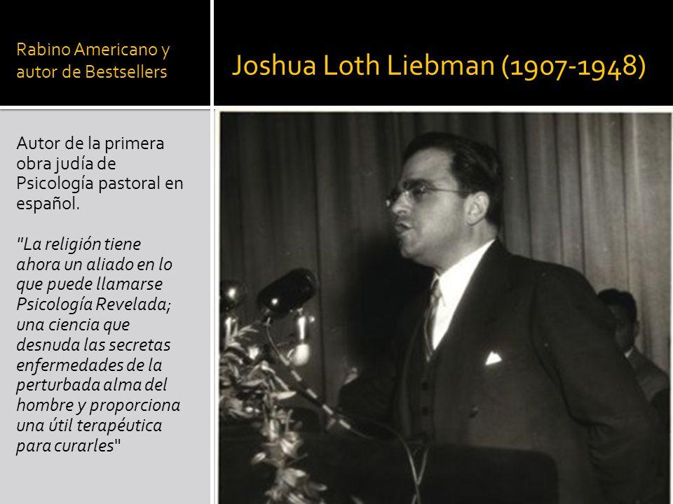 Rabino Americano y autor de Bestsellers
