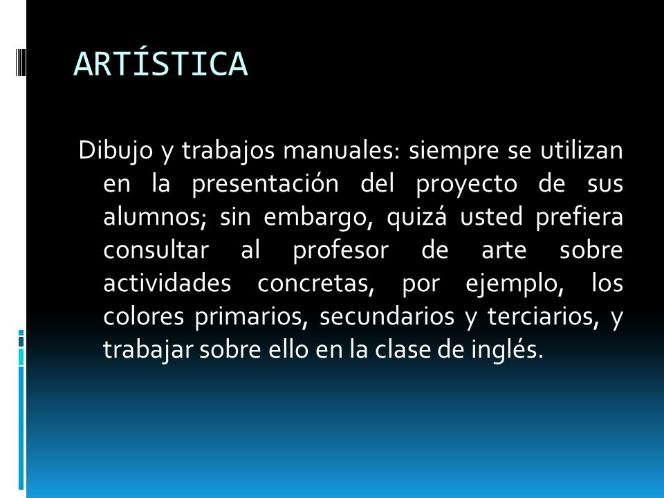 ARTÍSTICA