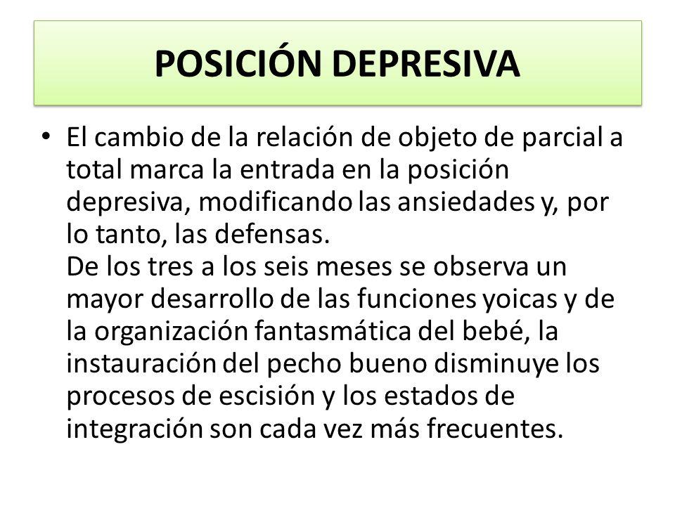 POSICIÓN DEPRESIVA