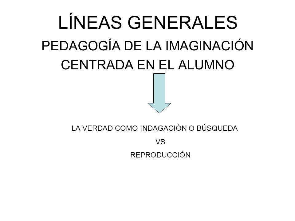 PEDAGOGÍA DE LA IMAGINACIÓN