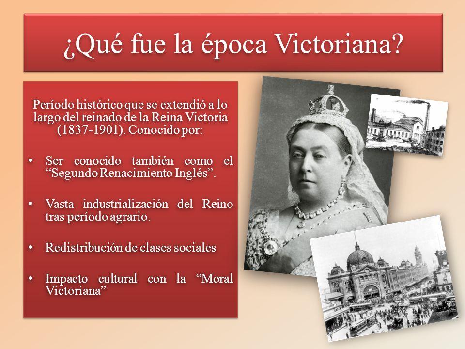 ¿Qué fue la época Victoriana