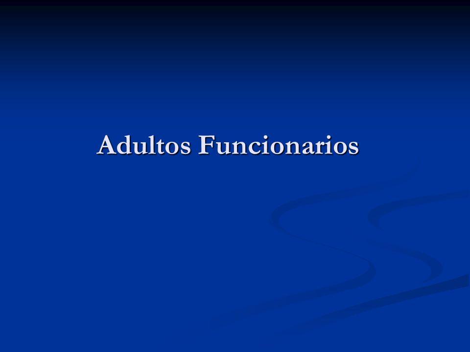 Adultos Funcionarios
