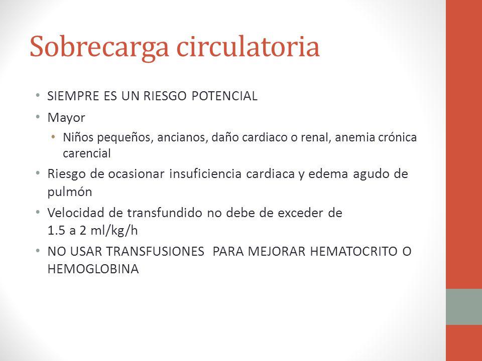 Sobrecarga circulatoria