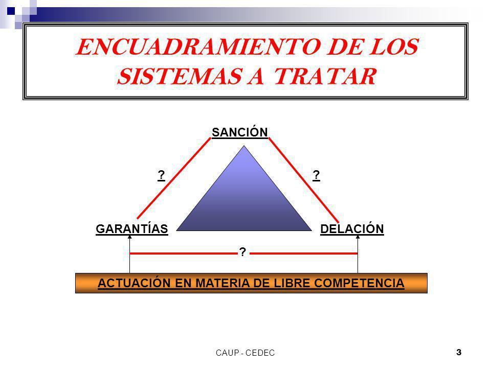 ENCUADRAMIENTO DE LOS SISTEMAS A TRATAR