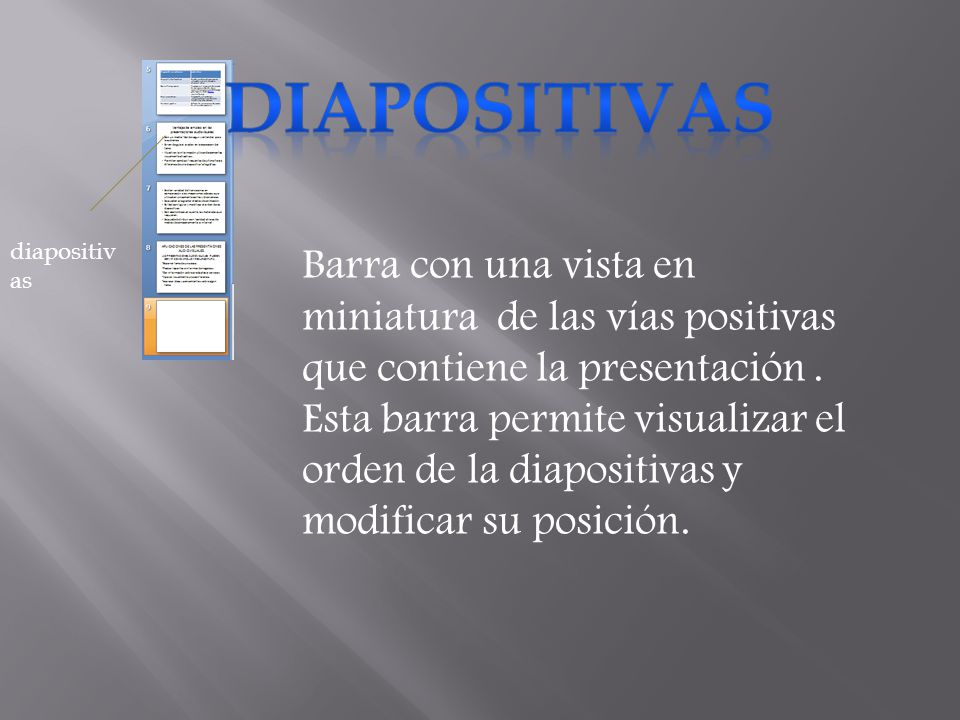 DIAPOSITIVAS diapositivas.