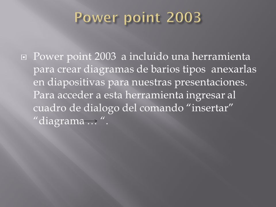 Power point 2003