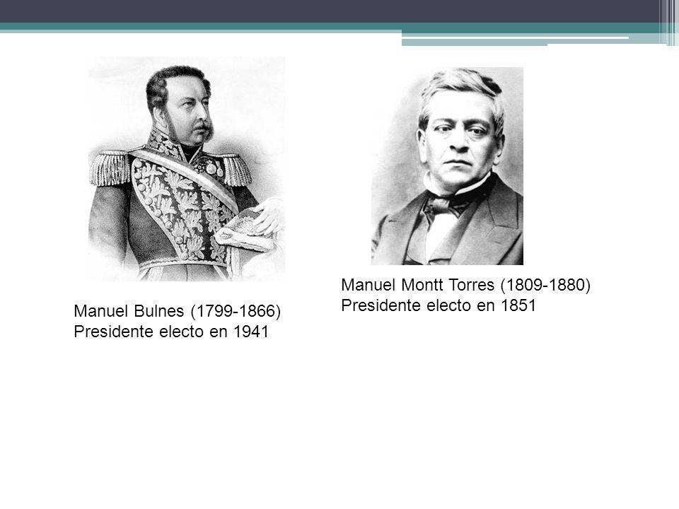 Manuel Montt Torres (1809-1880)