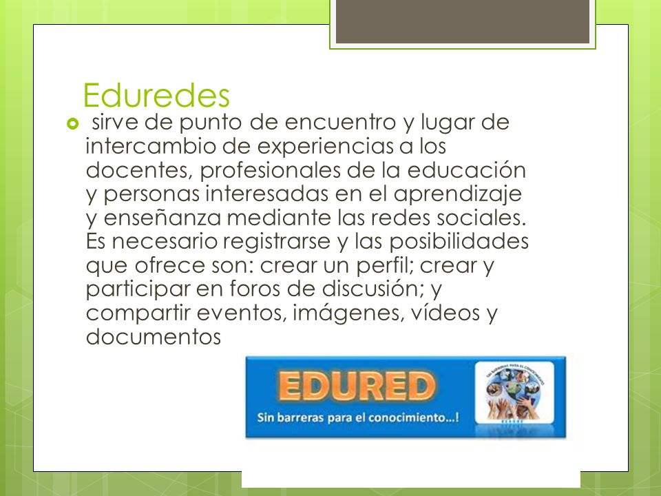 Eduredes