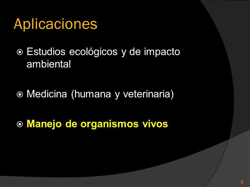 Aplicaciones Estudios ecológicos y de impacto ambiental