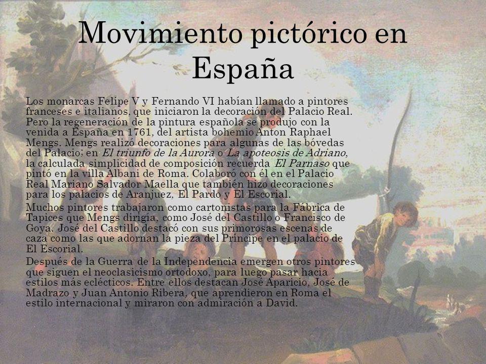 Movimiento pictórico en España