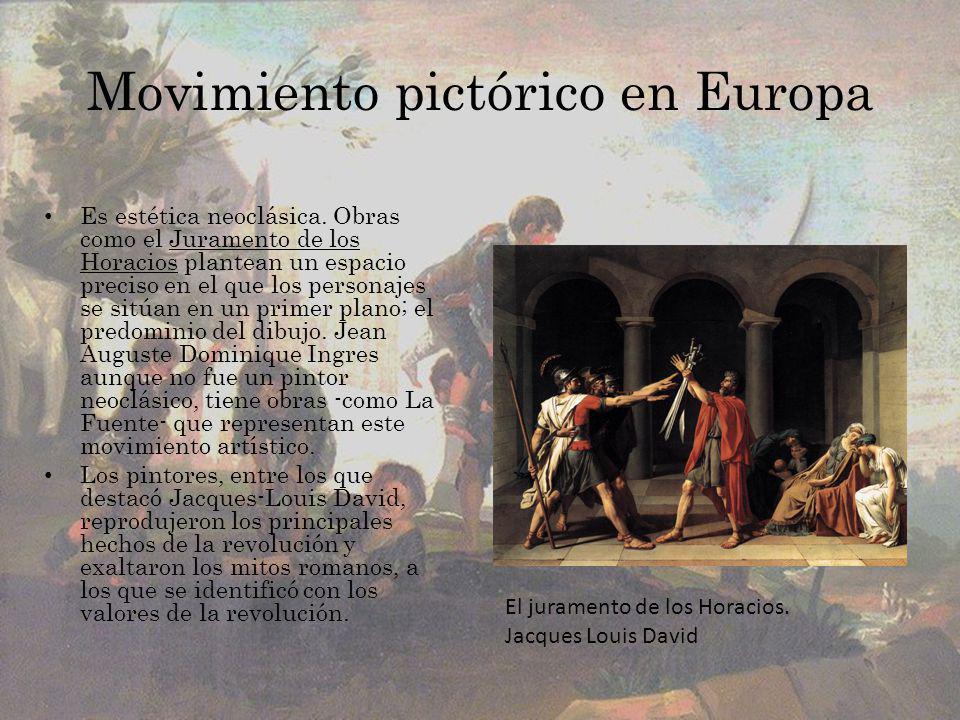 Movimiento pictórico en Europa