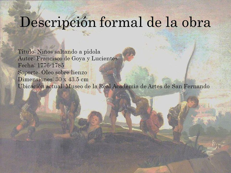 Descripción formal de la obra
