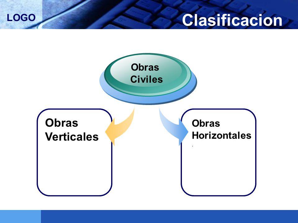 Clasificacion Obras Civiles Obras Verticales Obras Horizontales.