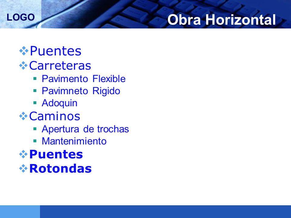 Obra Horizontal Puentes Carreteras Caminos Rotondas Pavimento Flexible