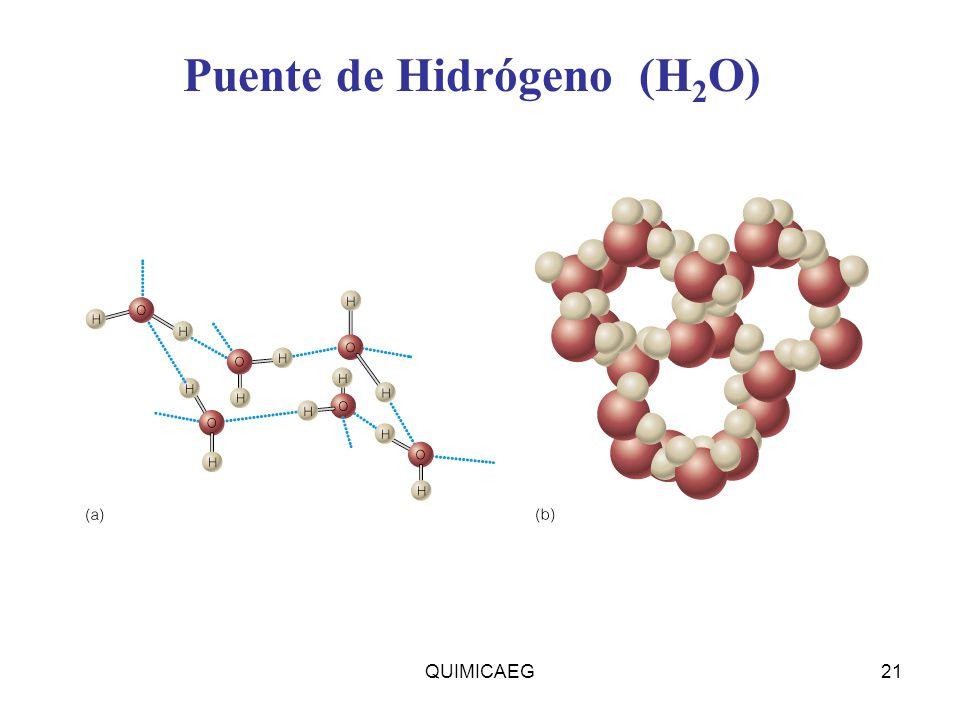 Puente de Hidrógeno (H2O)