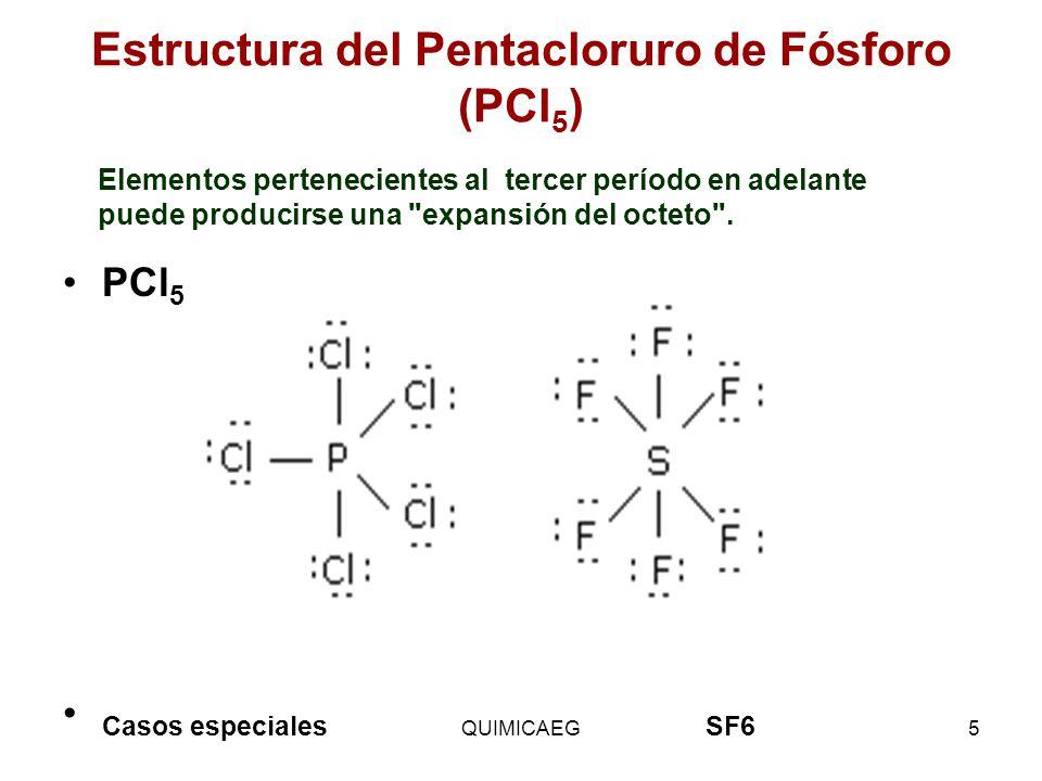 Estructura del Pentacloruro de Fósforo (PCl5)