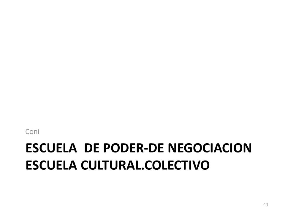 Escuela de poder-de negociacion escuela cultural.colectivo