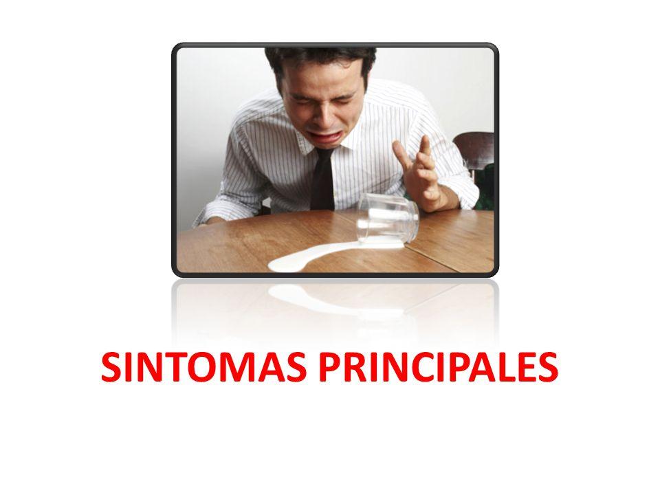 SINTOMAS PRINCIPALES