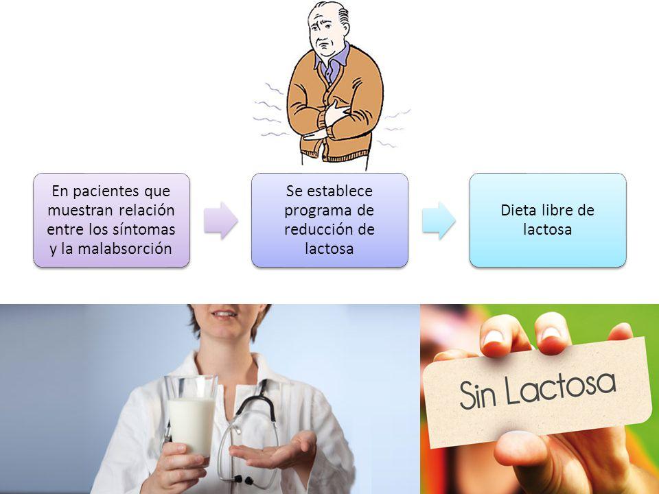 Se establece programa de reducción de lactosa