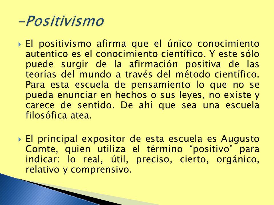 -Positivismo