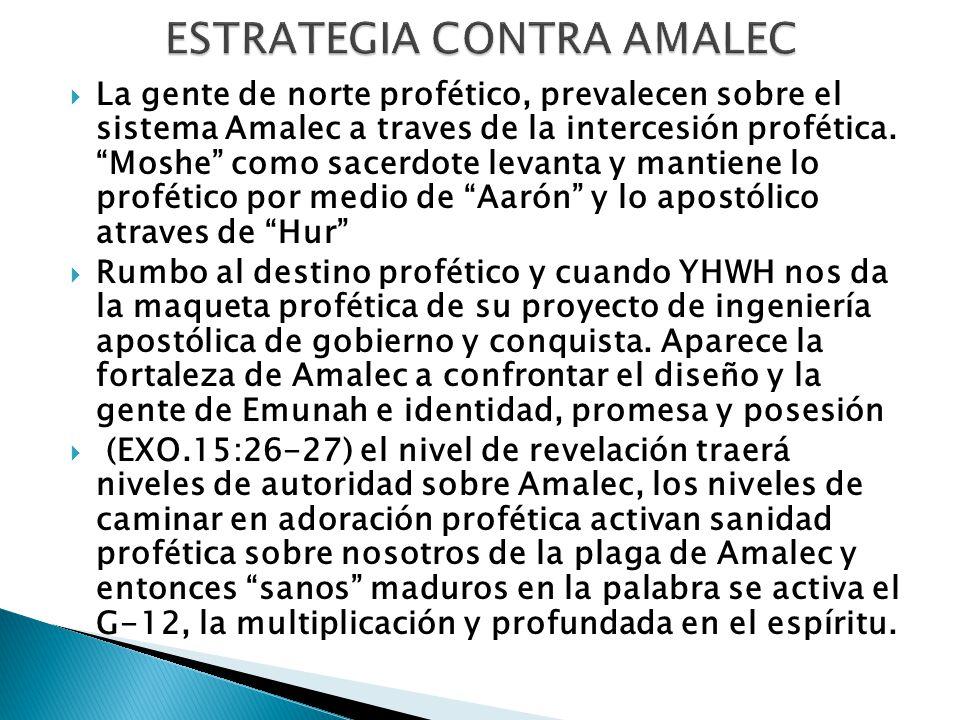 ESTRATEGIA CONTRA AMALEC