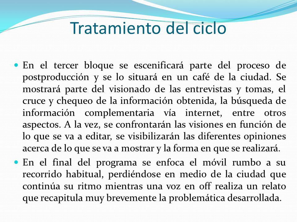 Tratamiento del ciclo