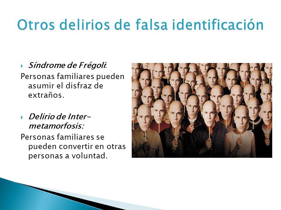 Otros delirios de falsa identificación
