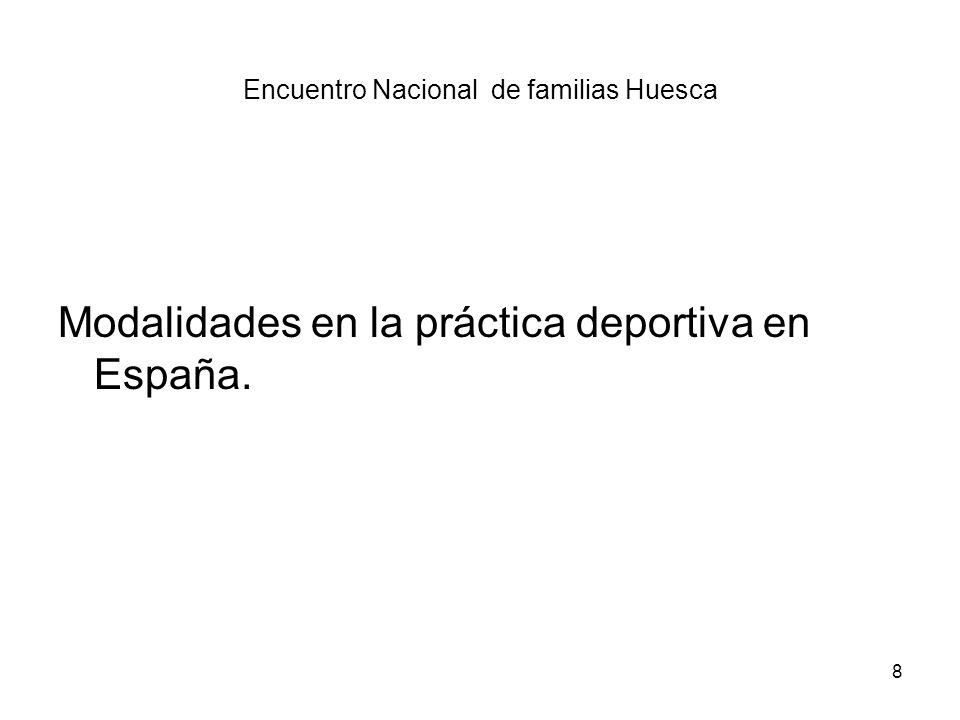 Encuentro Nacional de familias Huesca