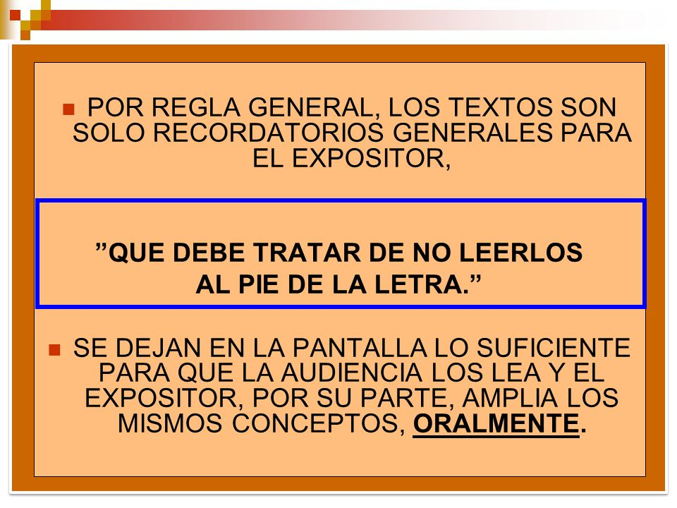 QUE DEBE TRATAR DE NO LEERLOS