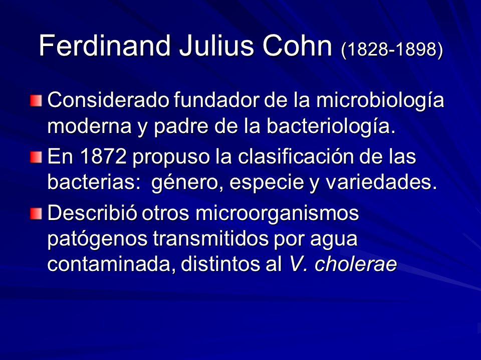 Ferdinand Julius Cohn (1828-1898)