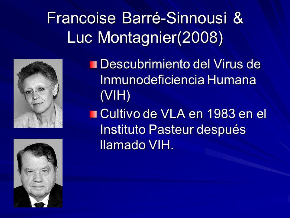 Francoise Barré-Sinnousi & Luc Montagnier(2008)