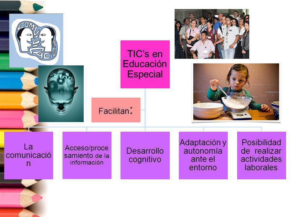 TIC's en Educación Especial