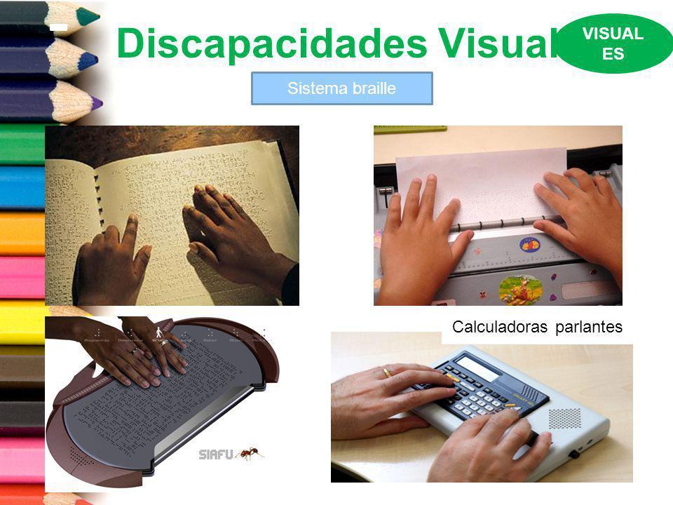 Discapacidades Visual