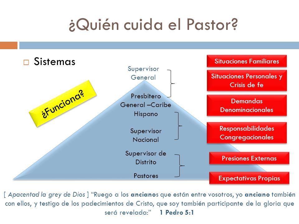 ¿Quién cuida el Pastor Sistemas ¿Funciona Situaciones Familiares