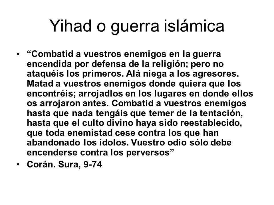 Yihad o guerra islámica