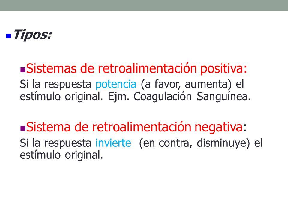 Sistemas de retroalimentación positiva: