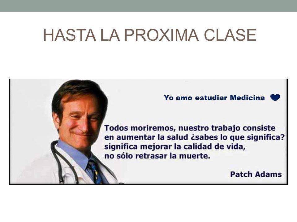 HASTA LA PROXIMA CLASE