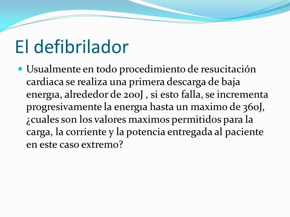 El defibrilador